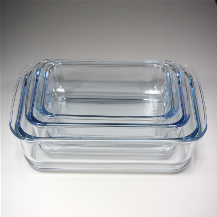 High Quality Borosilicate Glass Baking Dish