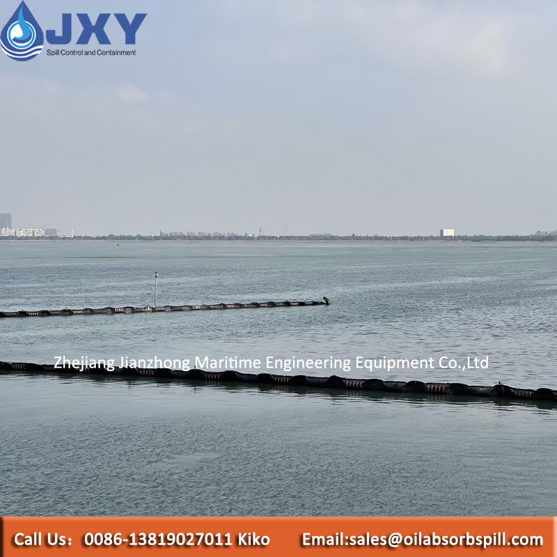 Rubber Type Silt curtains for rough water