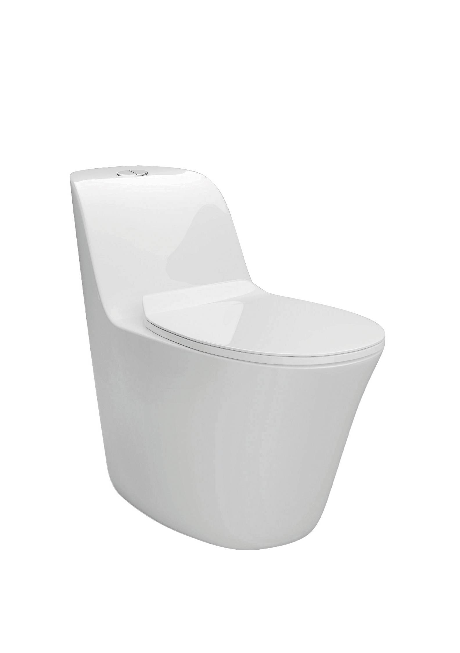 TA-8106 Sanitary Ware Dual Flush Siphon Jet Flushing One-piece Ceramic Toilet