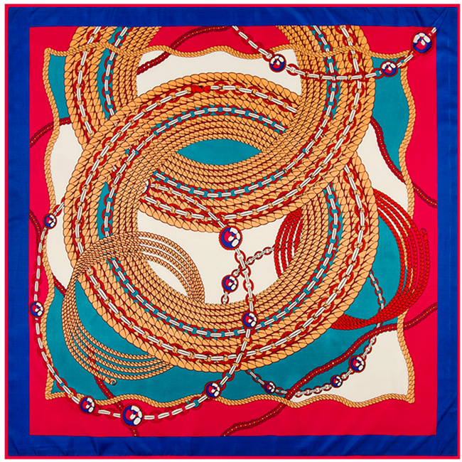 europe art silk scarf silk scarves