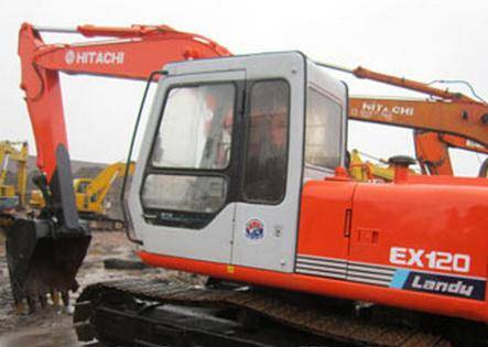 Used Hitachi EX120-1 Crawler Excavator