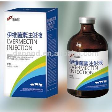 veterinary use Ivermectin Injection 1% cattle medicine