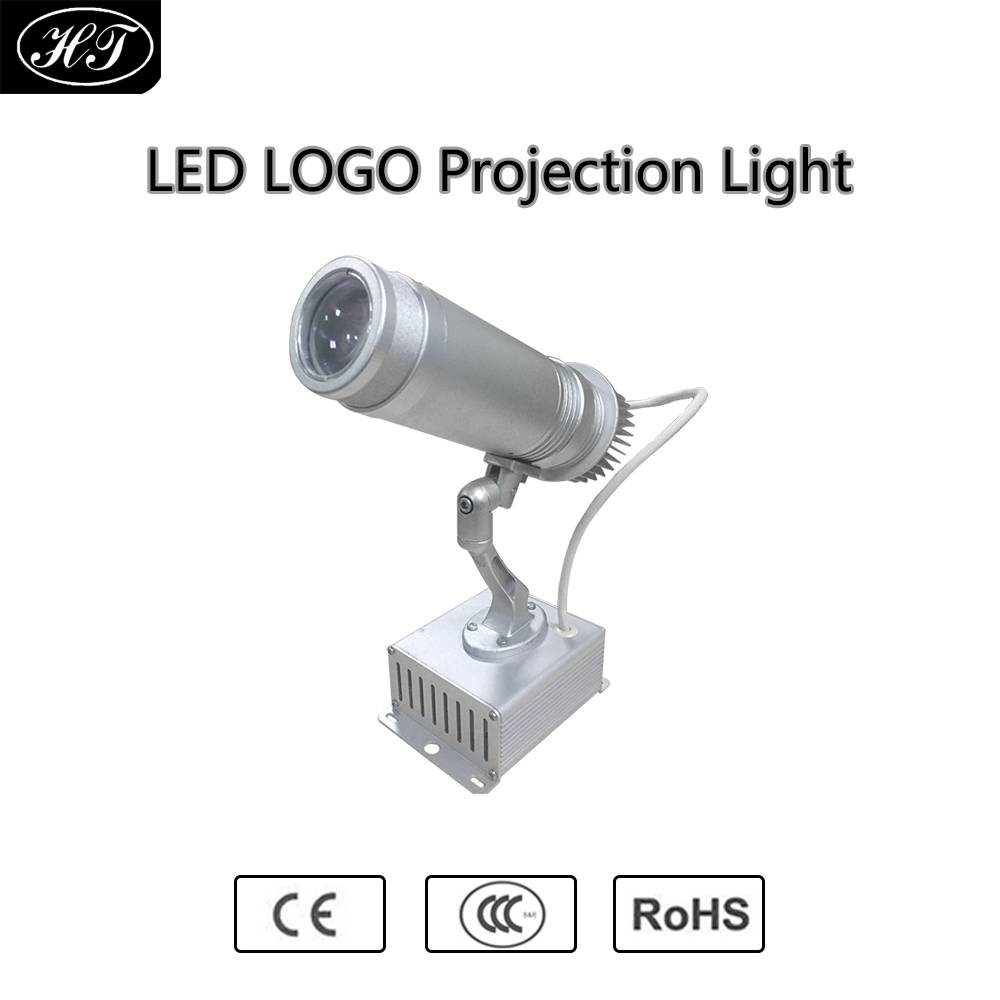 10W Led Logo Projector Customized Advertising Logo Projection Light