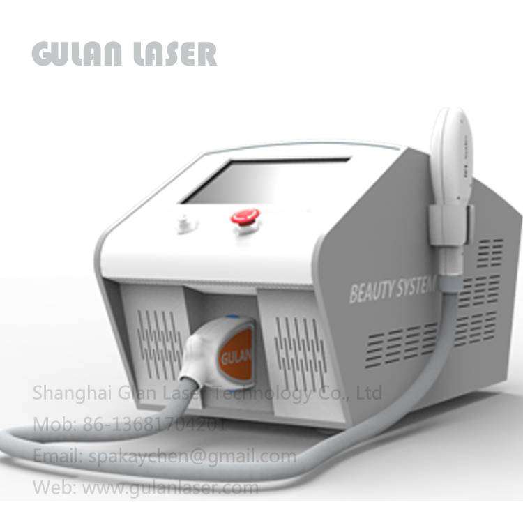 Pain free IPL hair removal equipment