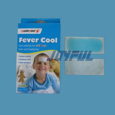 High Quality Fruit Smell Adult/Baby/Child Fever Cooling Gel Patch with Various Sizes