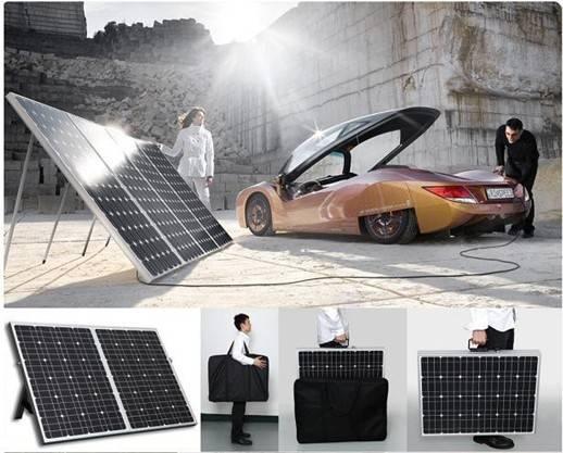 portable folding solar panel (40w-200w)