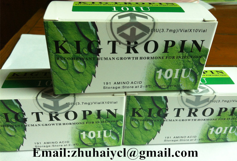 White Freeze Dried Human Growth Hormone / HGH / CAS:96827-07-5  Injections For Bodybuilding