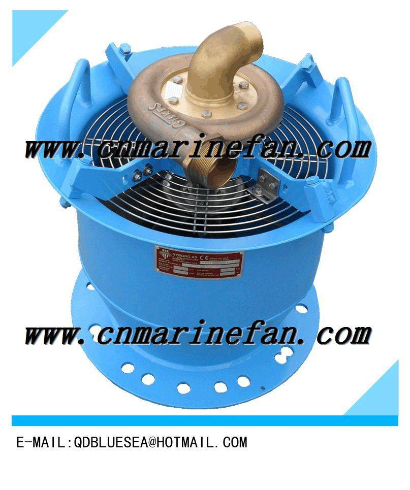 CSZ Ship water power axial flow fan