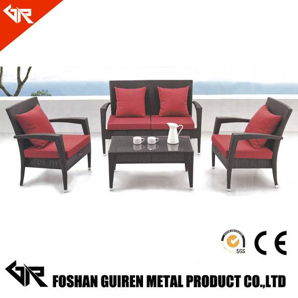 pe rattan furniture parts with white outdoor furniture rattan