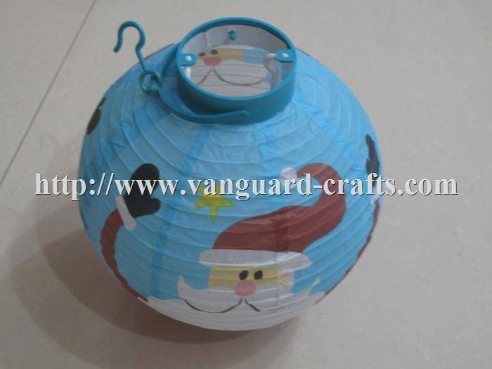 LED Christmas paper lantern light