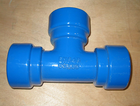DI Socket Fittings With Push-on On Joint(Tyton Joint)