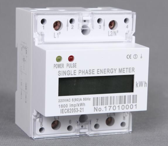 Single phase din rail energy meter, Type DDS238-4(B)