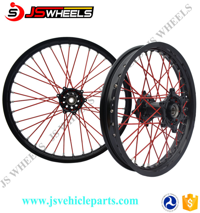 "173.5"" 175.0"" Super Motard Aluminum Spoked Wheels for YZ450 YZF250/450"