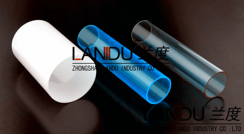 High quality colorful different size acrylic round tubes acrylic round pipes