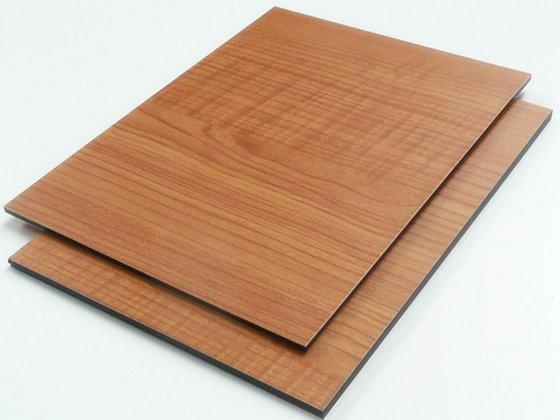 Wooden aluminum composite panel alucobond manufacturer 0.4mm aluminum skin
