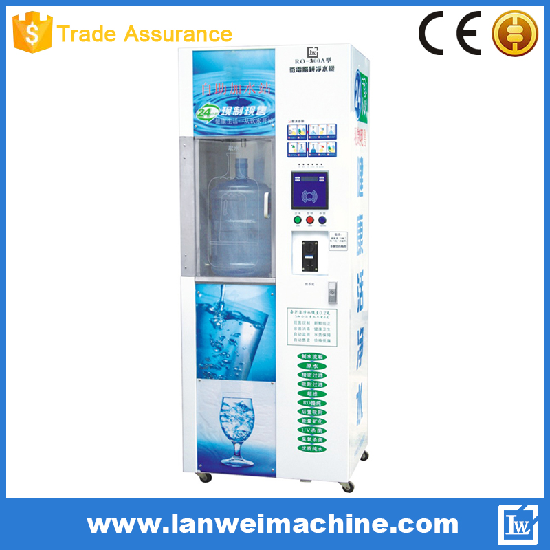 Public place use Automatic coin water vending machine