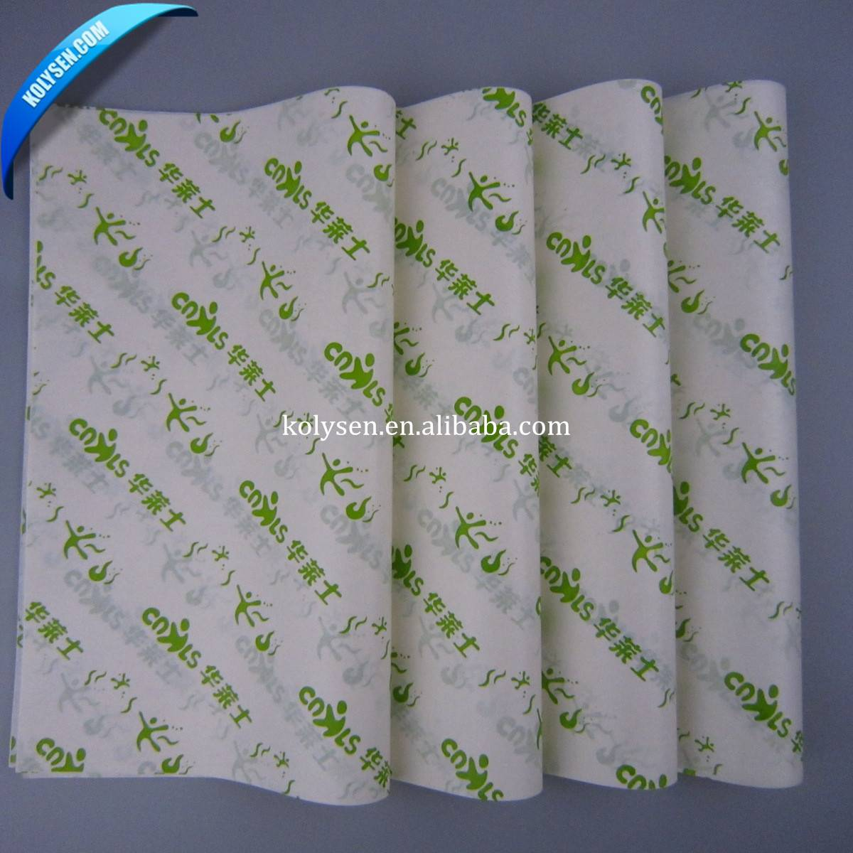 Best selling food grade greaseproof wrapping paper