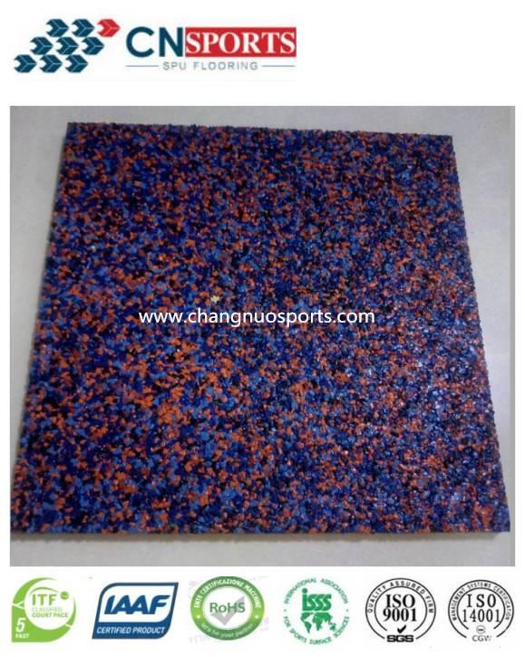 EPDM Laminated Flooring