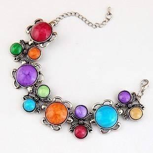 OnlySweetie-Fashion Jewelry-Bracelet-Alloy-Diamonds