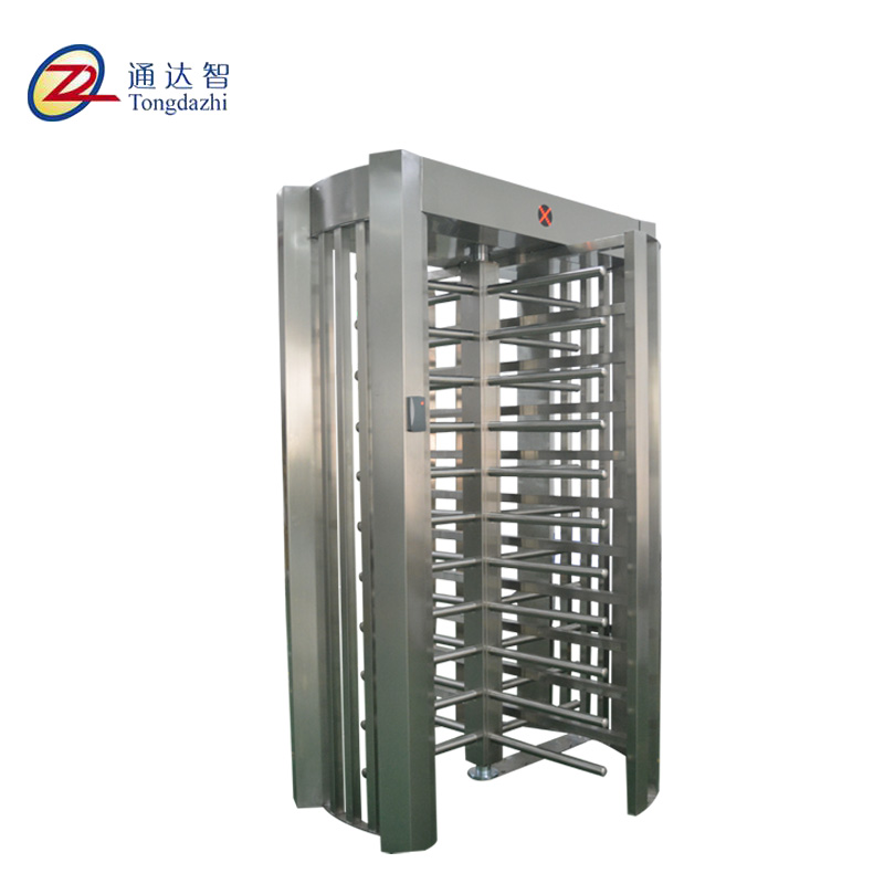 Enterance Access System Automatic 90 degrees Full Height Turnstile