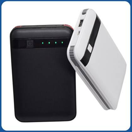 SJ-Y130LW 11000mAh textured indicator strong capacity dual USB high quality portable power bank