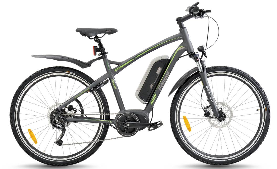 Mid-drive motor mountain electric bike (FR-TDB14Z)