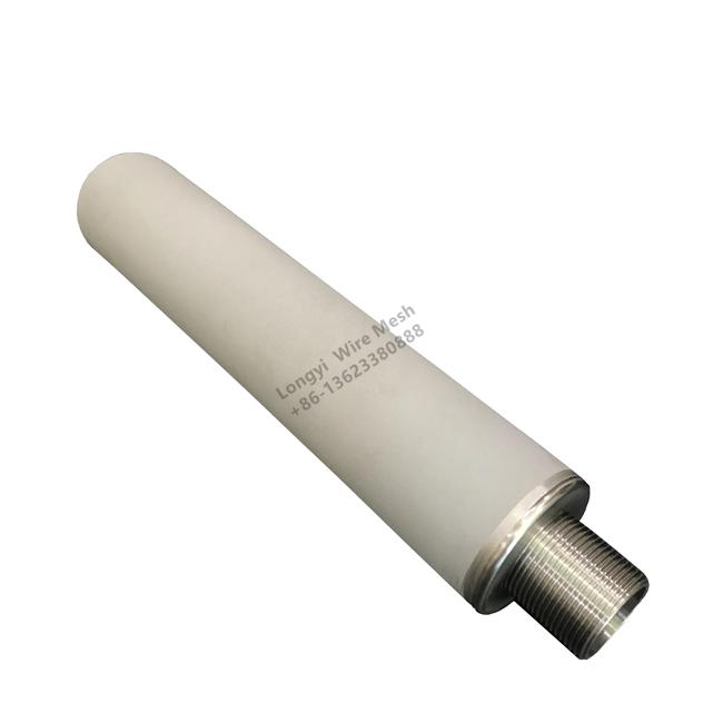 Backwash Titanium Rod Sintered filter cartridge water filter