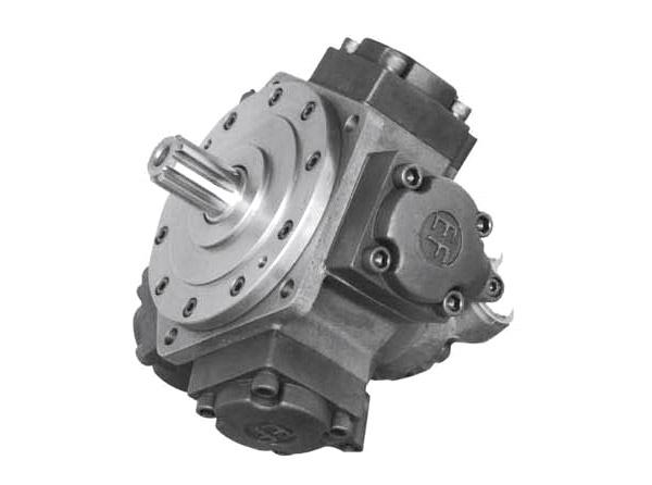 low speed high torque radial piston hydraulic motorYJMEF1