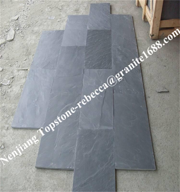 Slate tile, roofing slate tile, slate pavers