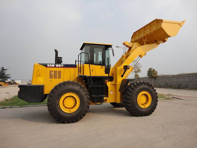 0.5-3.3m3 Bucket, 1-6 Ton Rated Load, Wheel Loader