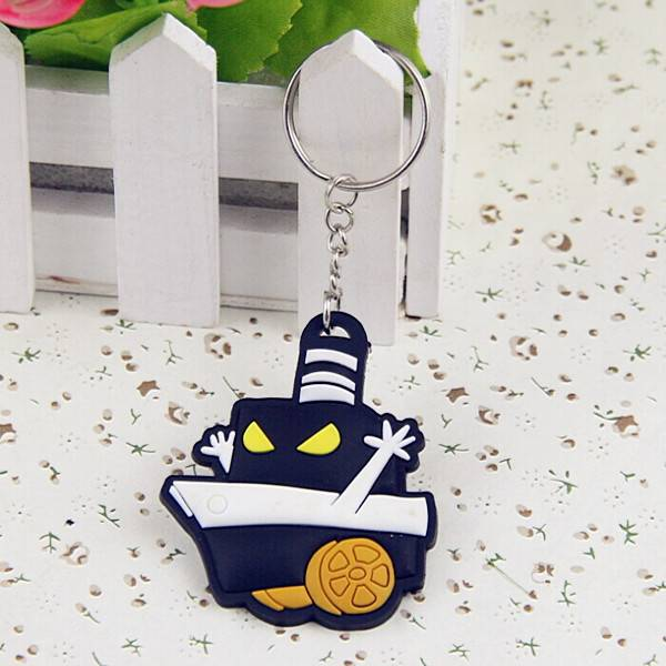 Wholesale & Custom Promotional PVC Rubber Keychain
