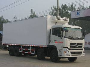 dongfeng Tianjin 140 refrigerated truck