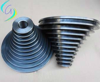ceramic coated cone pulley,step pulley,tower pulley