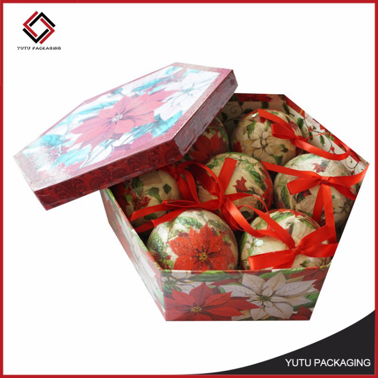 Promotional custom paper packaging chocolate box