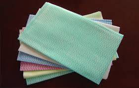 Water and Oil Absorbent Spunlace Nonwoven Fabric for General Purpose Wipes