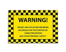 Caution Adhesive Label
