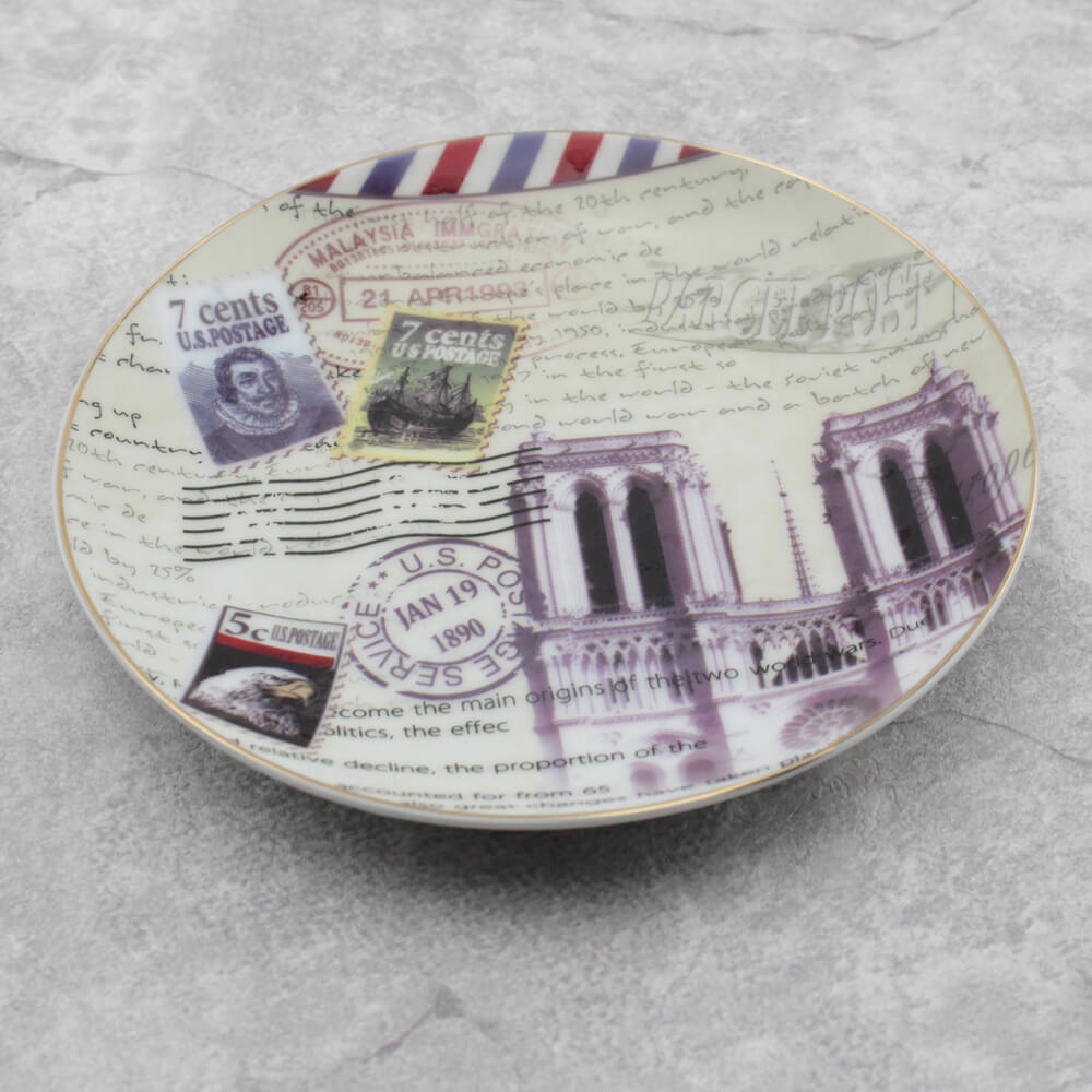 Commemorative Stamps Tidbit Plates