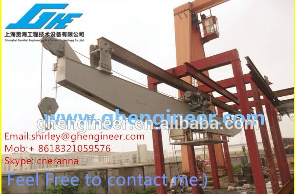 Electrical Translational Marine Crane