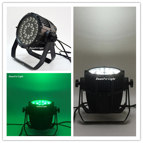 led par rgbw ip65 dmx outdoor led rgbw par can led par 24x10w