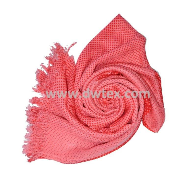 dotted printing fashion scarf