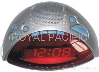 CLOCK RADIO WITH MP3 JACK