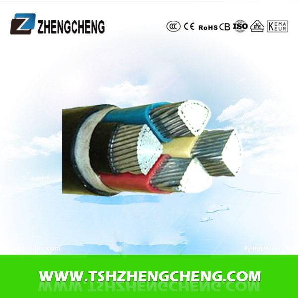4X1.5-300 0.6/1KV PVC insulated fire-restant power cable Aluminum
