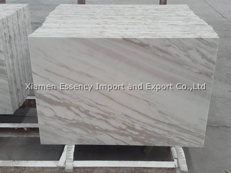 Volakas White Marble Tile and Slab