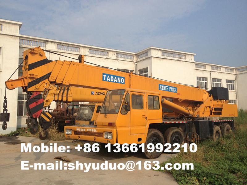 Used 35ton Tadano Hydraulic Truck Crane-used mobile crane,used hydraulic crane TG350E