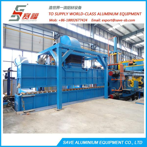 Aluminium Extrusion High-Pressure Spray Profile Quench