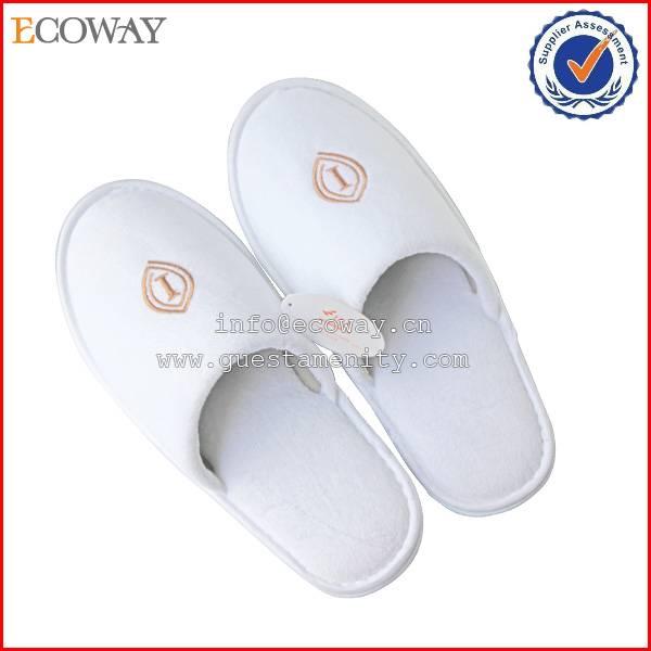 disposable hotel towel slipper/hotel amenities slippers/hotel bathroom slippers