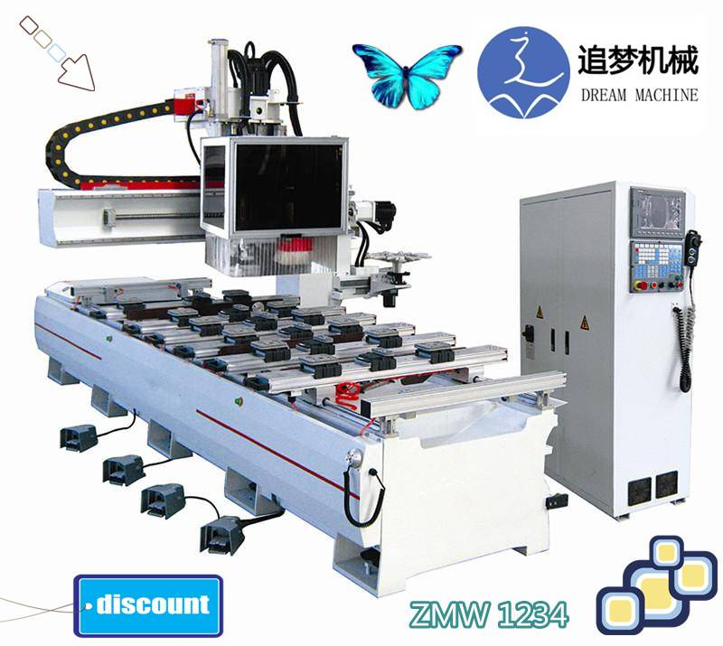 Single arm CNC processing center ZMW1234
