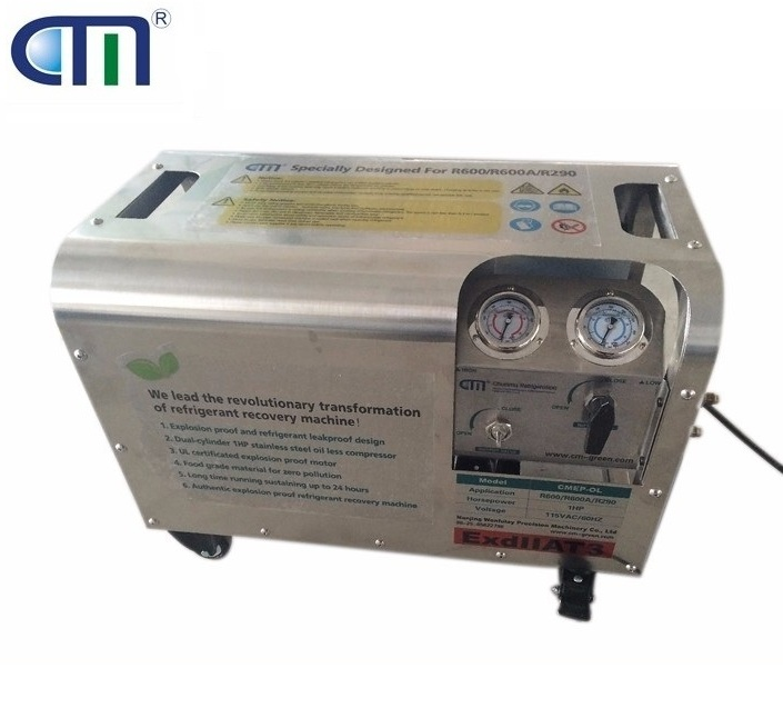 R600A Refrigerant Recovery Pump with Explosion Proof System