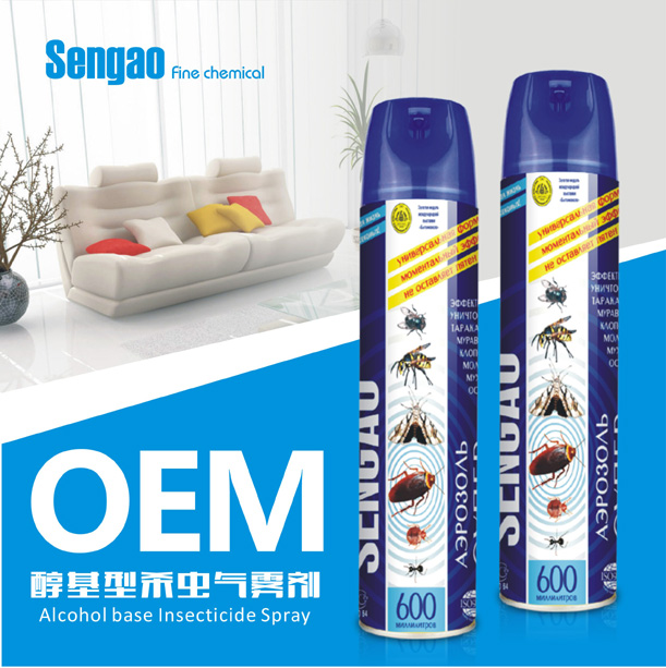 alcohol base insecticide spray