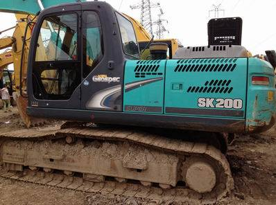 Used Kobelco SK200-8 Excavator, Used Excavator SK200-8 for Sale